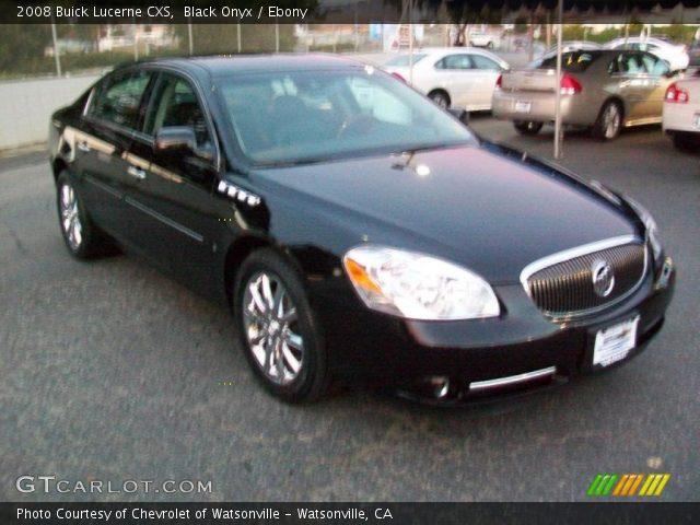 Black Onyx - 2008 Buick Lucerne CXS - Ebony Interior | GTCarLot.com ...