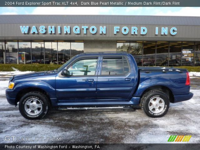 dark blue pearl metallic 2004 ford explorer sport trac xlt 4x4 with. Cars Review. Best American Auto & Cars Review