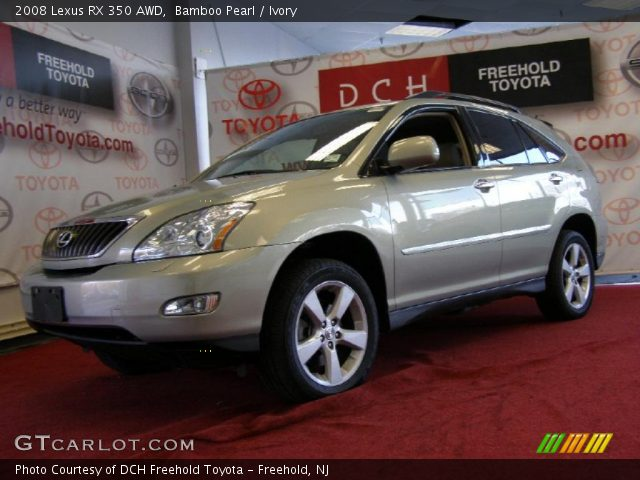 bamboo pearl 2008 lexus rx 350 awd ivory interior vehicle archive 42597211. Black Bedroom Furniture Sets. Home Design Ideas