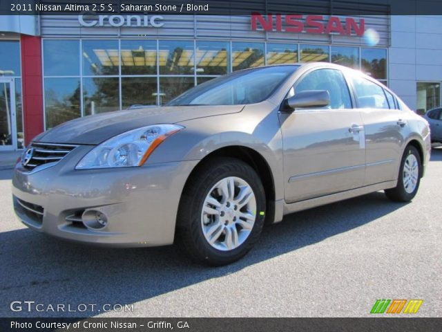 Saharan Stone - 2011 Nissan Altima 2.5 S - Blond Interior | GTCarLot ...