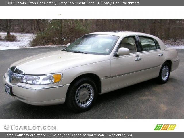 ivory parchment pearl tri coat 2000 lincoln town car cartier light parchment interior. Black Bedroom Furniture Sets. Home Design Ideas