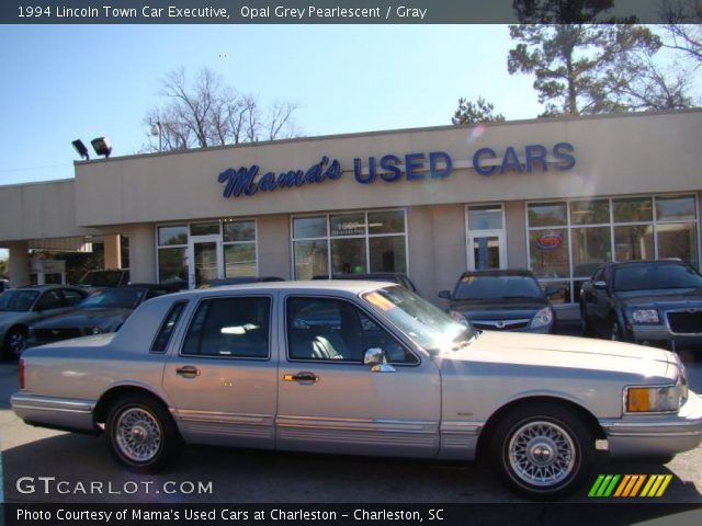 opal grey pearlescent 1994 lincoln town car executive gray interior vehicle. Black Bedroom Furniture Sets. Home Design Ideas