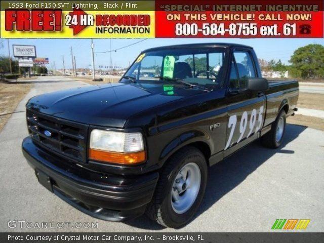 1993 Ford F150 SVT Lightning in Black