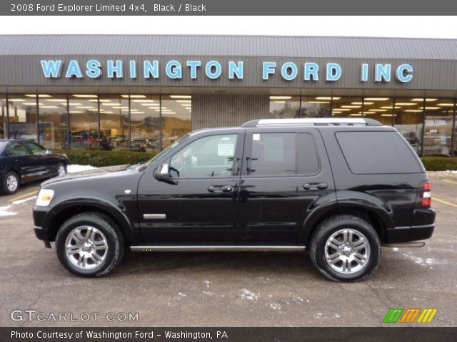 2008 ford explorer limited 4x4 in black - 2008 Ford Explorer Interior