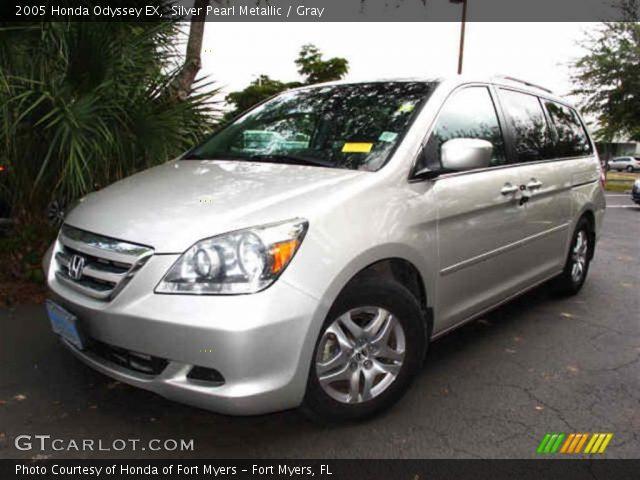 2005 Honda Odyssey EX in Silver Pearl Metallic