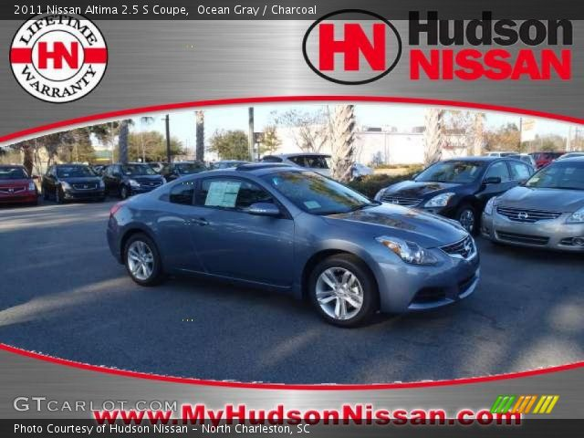 2011 Nissan Altima 2.5 S Coupe in Ocean Gray. Click to see large photo ...