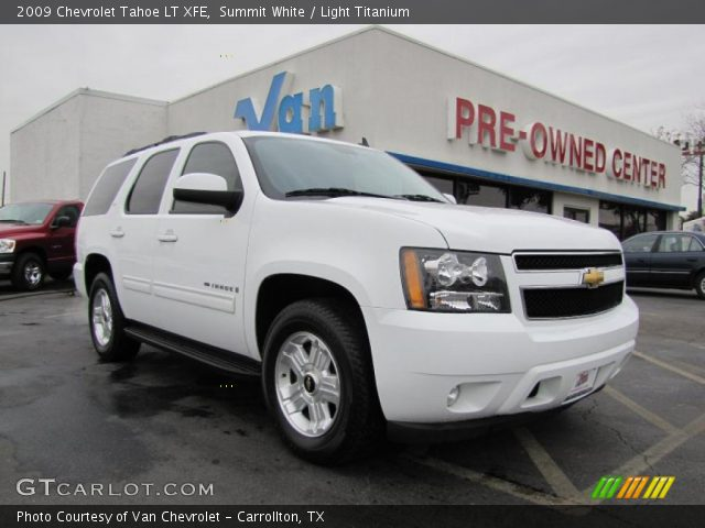 summit white 2009 chevrolet tahoe lt xfe light. Black Bedroom Furniture Sets. Home Design Ideas