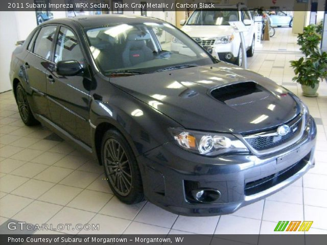 2011 Subaru Impreza WRX Sedan in Dark Gray Metallic
