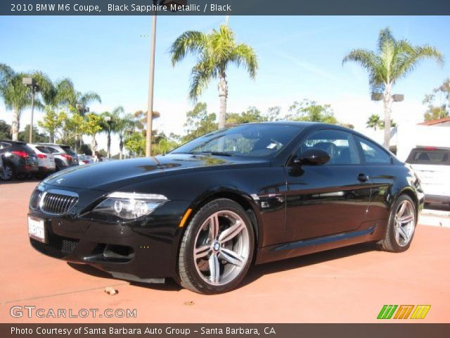 Bmw M6 Black Edition. 2010 Bmw M6 Coupe. Black