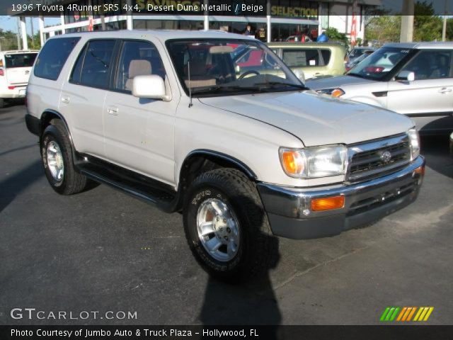 desert dune metallic 1996 toyota 4runner sr5 4x4 beige. Black Bedroom Furniture Sets. Home Design Ideas