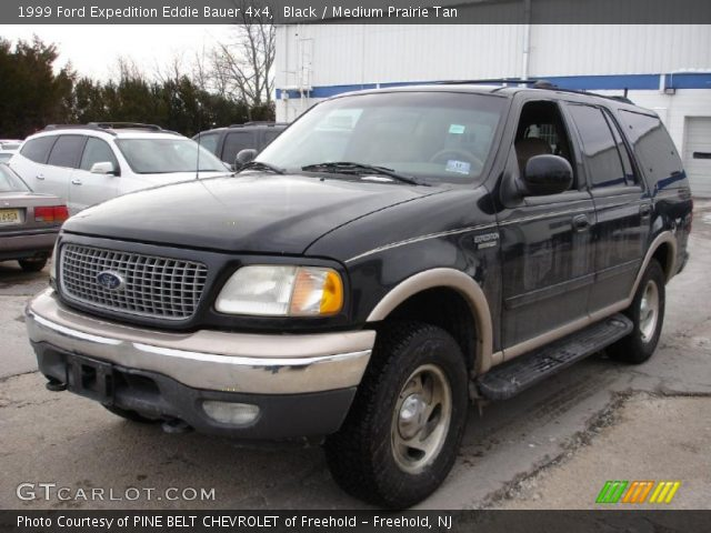 black 1999 ford expedition eddie bauer 4x4 medium prairie tan interior. Black Bedroom Furniture Sets. Home Design Ideas