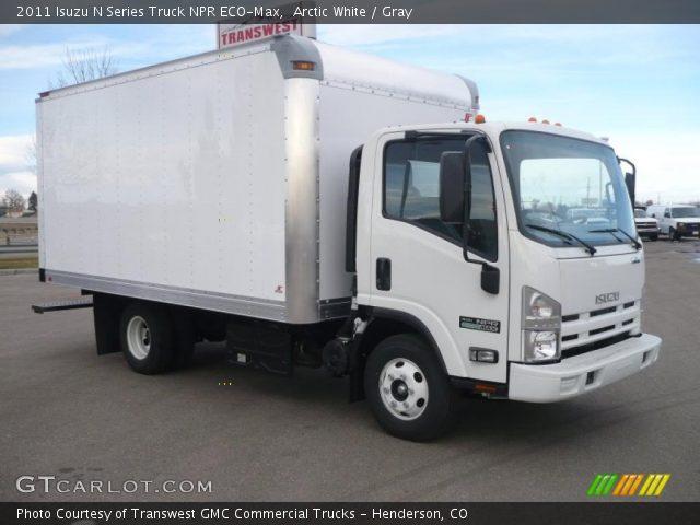 2011 Isuzu N Series Truck NPR ECO-Max in Arctic White