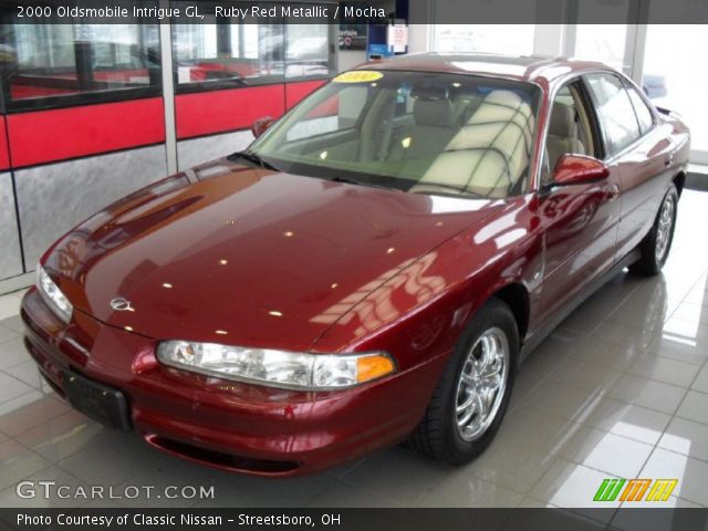 2000 Oldsmobile Intrigue GL in Ruby Red Metallic