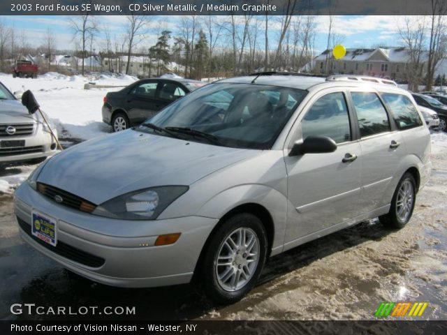 cd silver metallic 2003 ford focus se wagon medium. Black Bedroom Furniture Sets. Home Design Ideas