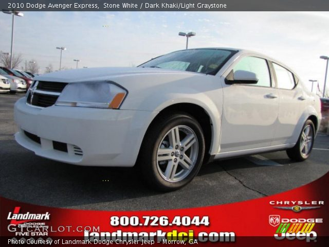 stone white 2010 dodge avenger express dark khaki. Black Bedroom Furniture Sets. Home Design Ideas