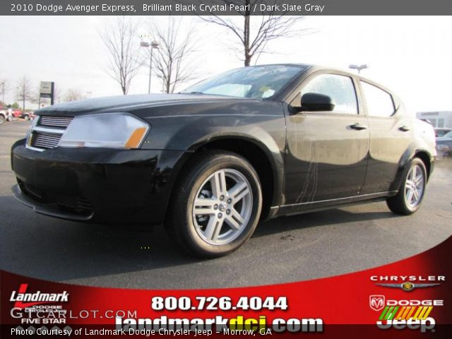 2010 Dodge Avenger Express in Brilliant Black Crystal Pearl. Click to ...