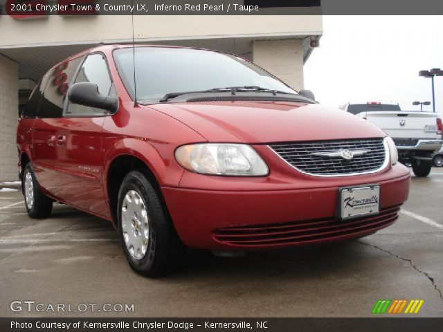 Inferno red pearl 2001 chrysler town country lx - 2001 chrysler town and country interior ...