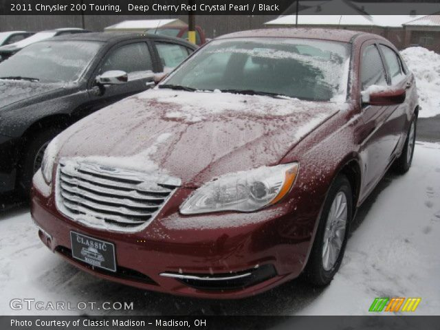 2011 Chrysler 200 Touring in Deep Cherry Red Crystal Pearl