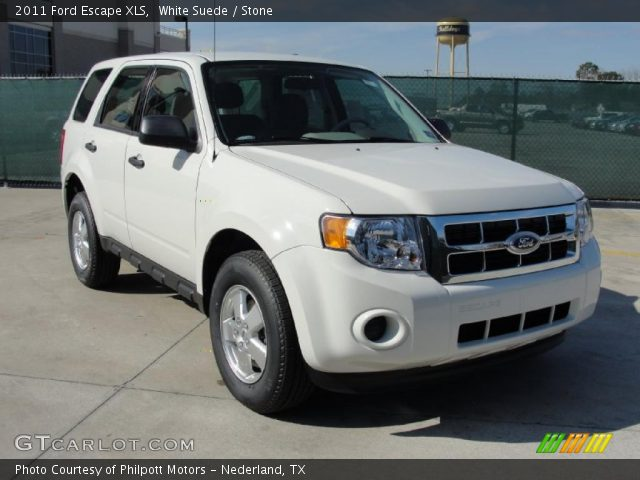 White suede 2011 ford escape xls stone interior for G stone motors used cars