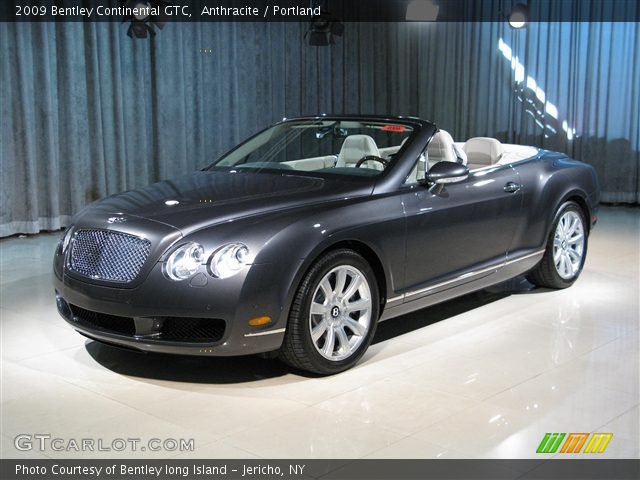 2009 Bentley Continental GTC  in Anthracite
