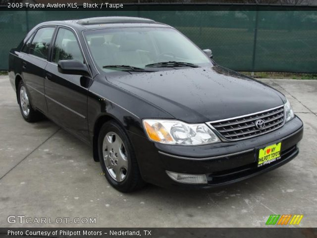 black 2003 toyota avalon xls taupe interior gtcarlot com vehicle archive 43880607 gtcarlot com