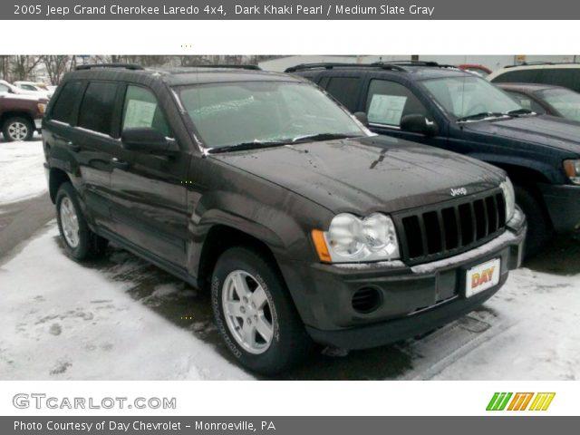 Dark khaki pearl 2005 jeep grand cherokee laredo 4x4 - 2005 jeep grand cherokee laredo interior ...