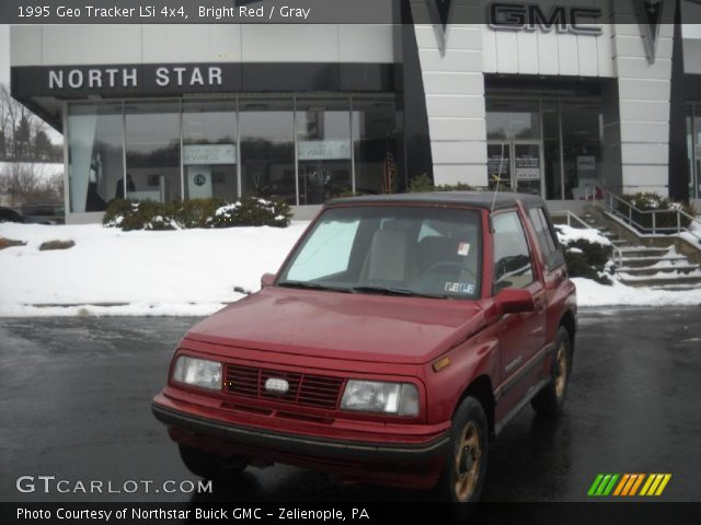 1995 Geo Tracker LSi 4x4 in Bright Red