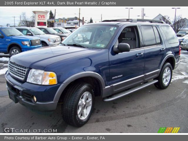 dark blue pearl metallic 2005 ford explorer xlt 4x4. Black Bedroom Furniture Sets. Home Design Ideas