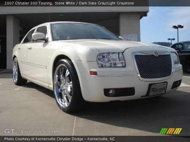 Stone white 2007 chrysler 300 touring dark slate gray - 2007 chrysler 300 custom interior ...