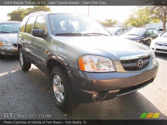 light tundra metallic 2004 mazda tribute lx v6 dark. Black Bedroom Furniture Sets. Home Design Ideas