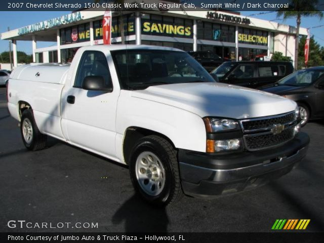 2007 Chevrolet Silverado 1500 Classic Work Truck Regular Cab in Summit White