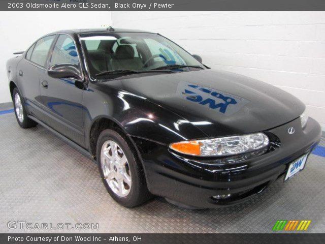 2003 Oldsmobile Alero GLS Sedan in Black Onyx