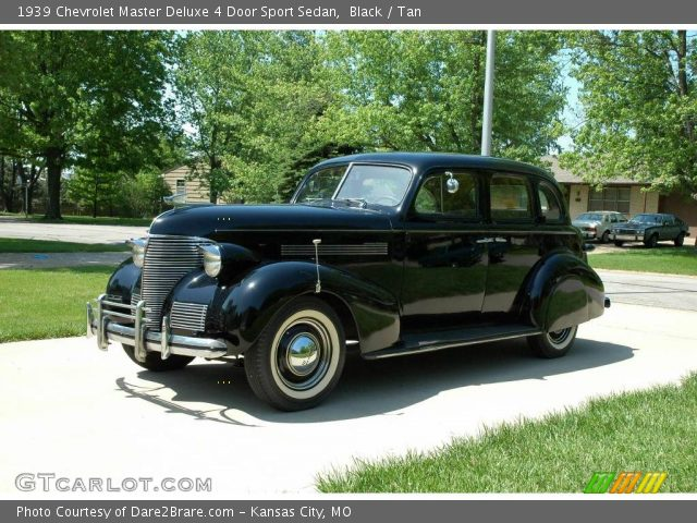 black 1939 chevrolet master deluxe 4 door sport sedan