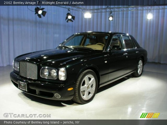 Midnight Emerald - 2002 Bentley Arnage T - Autumn Interior | GTCarLot ...