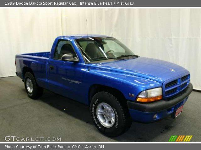 intense blue pearl 1999 dodge dakota sport regular cab. Black Bedroom Furniture Sets. Home Design Ideas