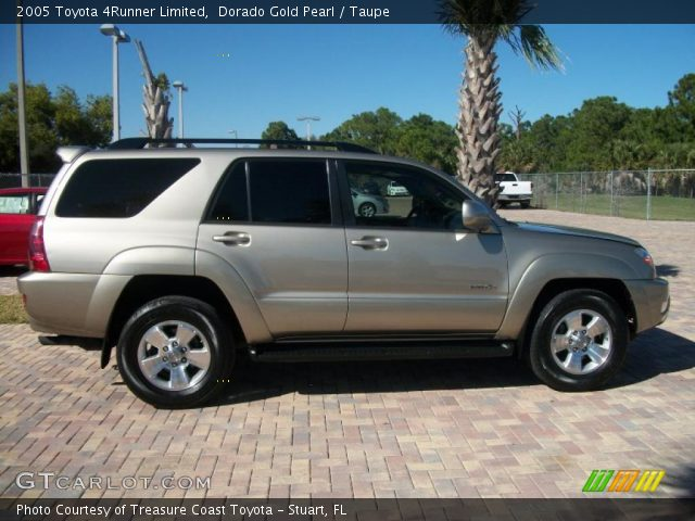 Dorado Gold Pearl 2005 Toyota 4runner Limited Taupe Interior Vehicle