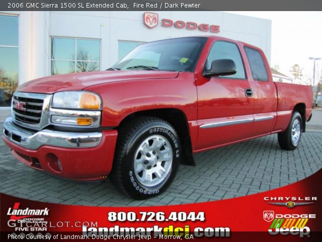 2006 GMC Sierra 1500 SL Extended Cab in Fire Red