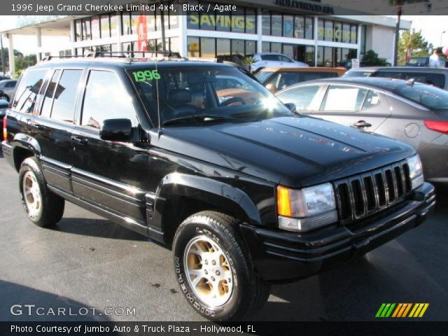 Black 1996 jeep grand cherokee limited 4x4 agate - 1996 jeep grand cherokee interior ...