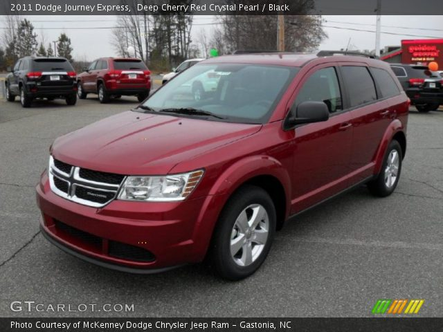 deep cherry red crystal pearl 2011 dodge journey express. Black Bedroom Furniture Sets. Home Design Ideas