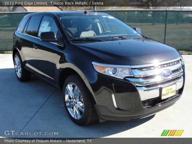 tuxedo black metallic 2011 ford edge limited sienna. Black Bedroom Furniture Sets. Home Design Ideas