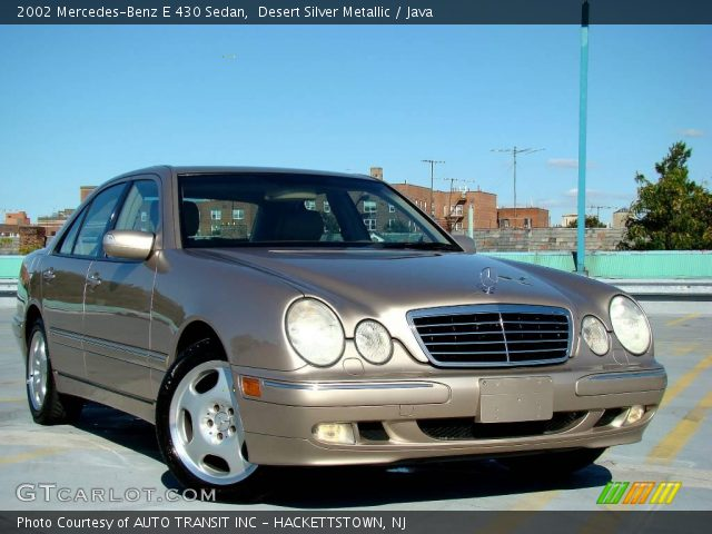 2002 Mercedes-Benz E 430 Sedan in Desert Silver Metallic