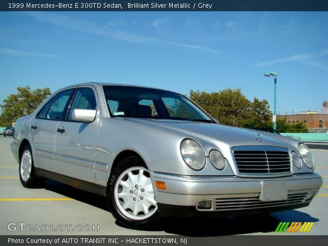 1999 Mercedes-Benz E 300TD Sedan in Brilliant Silver Metallic
