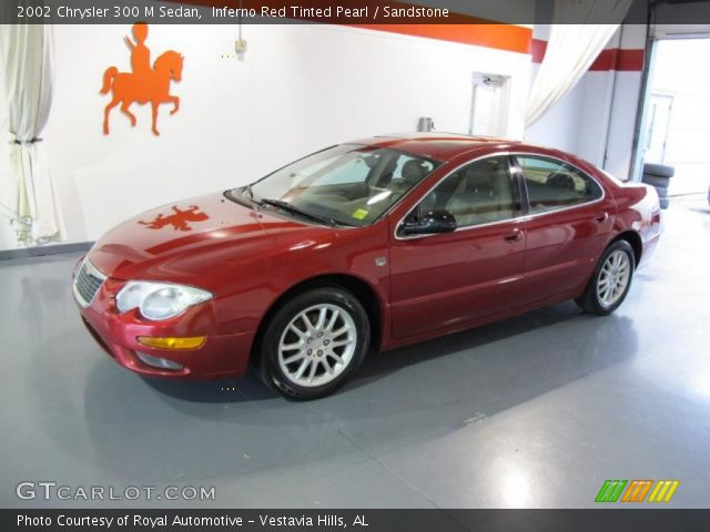 Inferno red tinted pearl 2002 chrysler 300 m sedan - Chrysler 300 red interior for sale ...