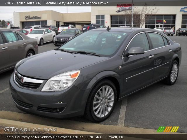 2007 Saturn Aura XR in Techno Gray Metallic
