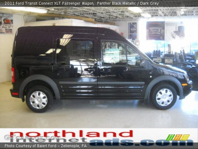 9e5a9f704b Panther Black Metallic - 2011 Ford Transit Connect XLT Passenger ...