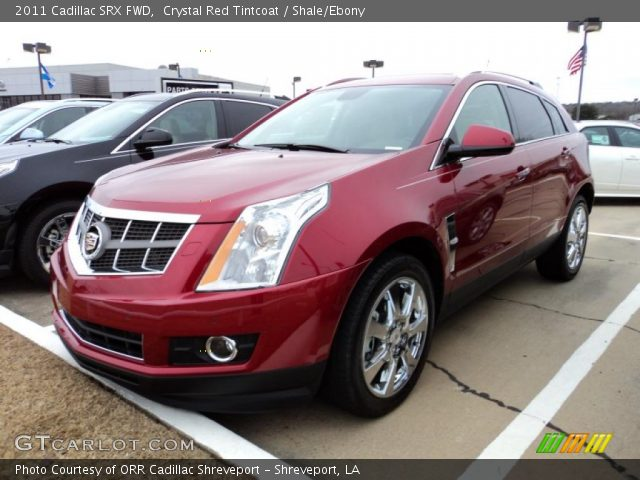 2011 Cadillac SRX FWD in Crystal Red Tintcoat