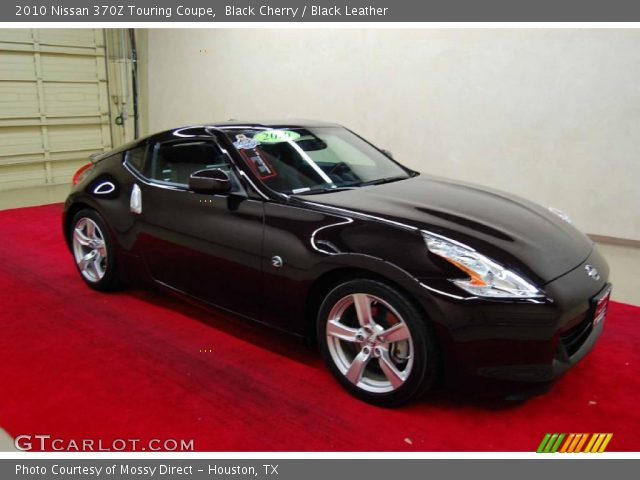black cherry 2010 nissan 370z touring coupe black. Black Bedroom Furniture Sets. Home Design Ideas