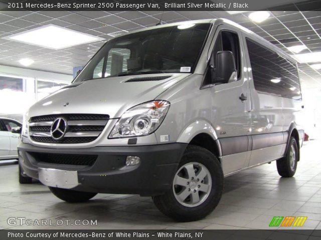 2011 Mercedes-Benz Sprinter 2500 Passenger Van in Brilliant Silver Metallic