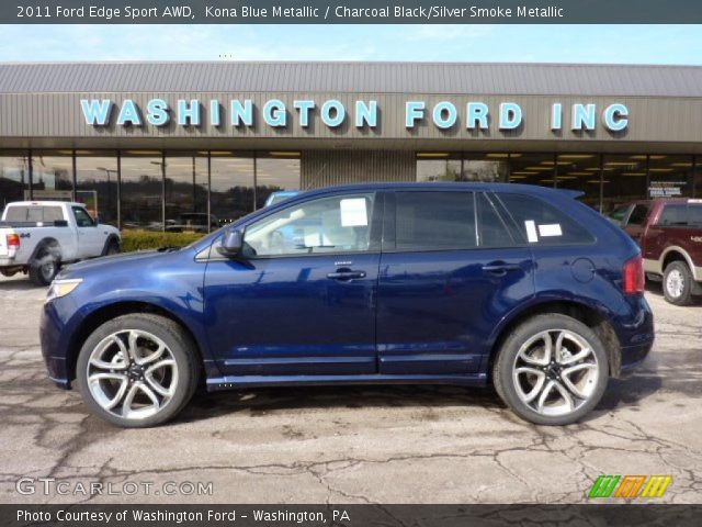 2011 Ford Edge Sport AWD in Kona Blue Metallic