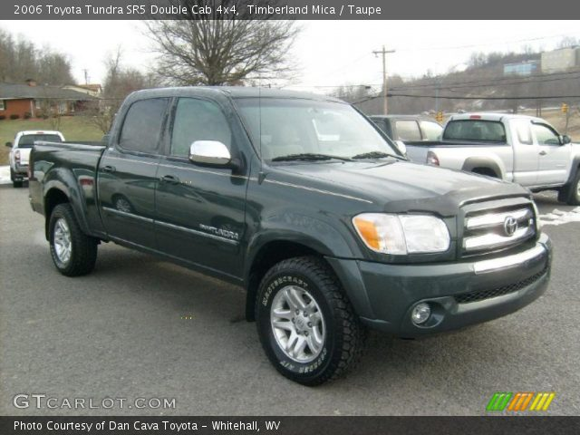 timberland mica 2006 toyota tundra sr5 double cab 4x4 taupe interior. Black Bedroom Furniture Sets. Home Design Ideas